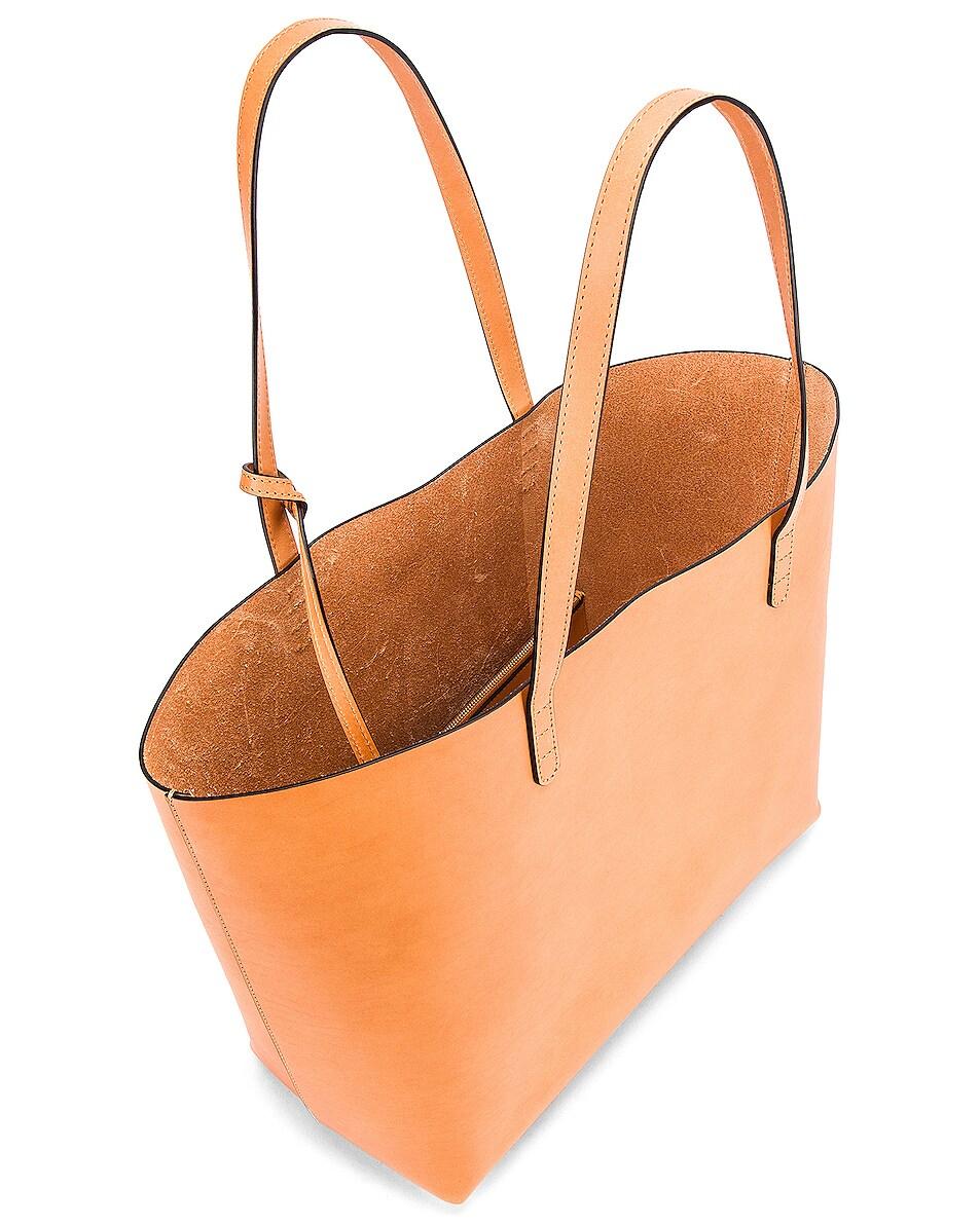 Image 5 of Mansur Gavriel Large Tote Bag in Cammello