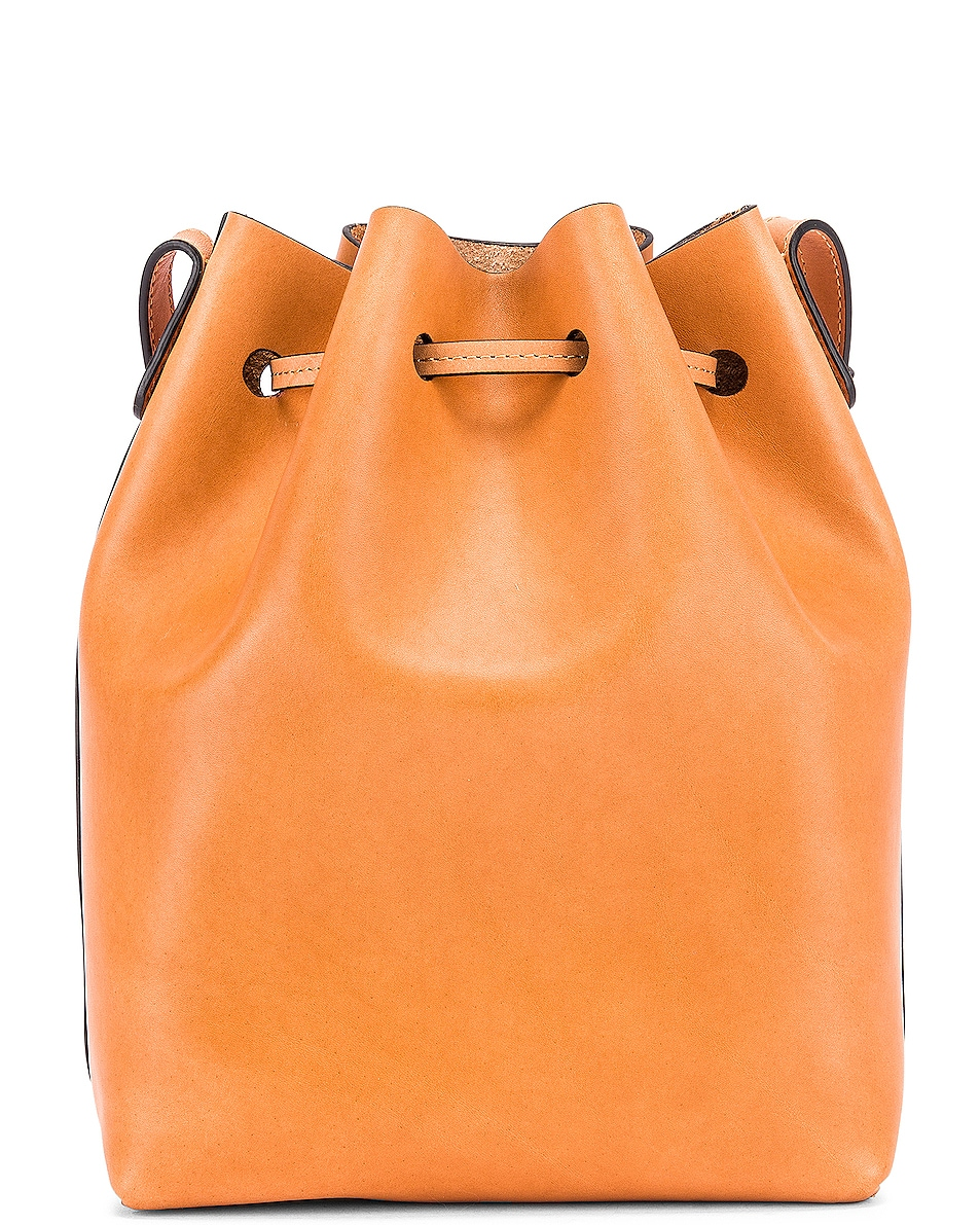 Image 3 of Mansur Gavriel Mini Bucket Bag in Cammello