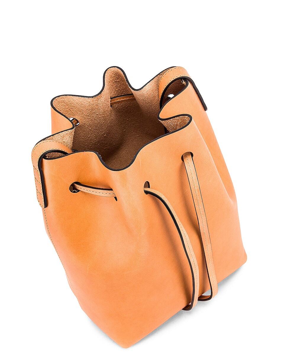Image 5 of Mansur Gavriel Mini Bucket Bag in Cammello