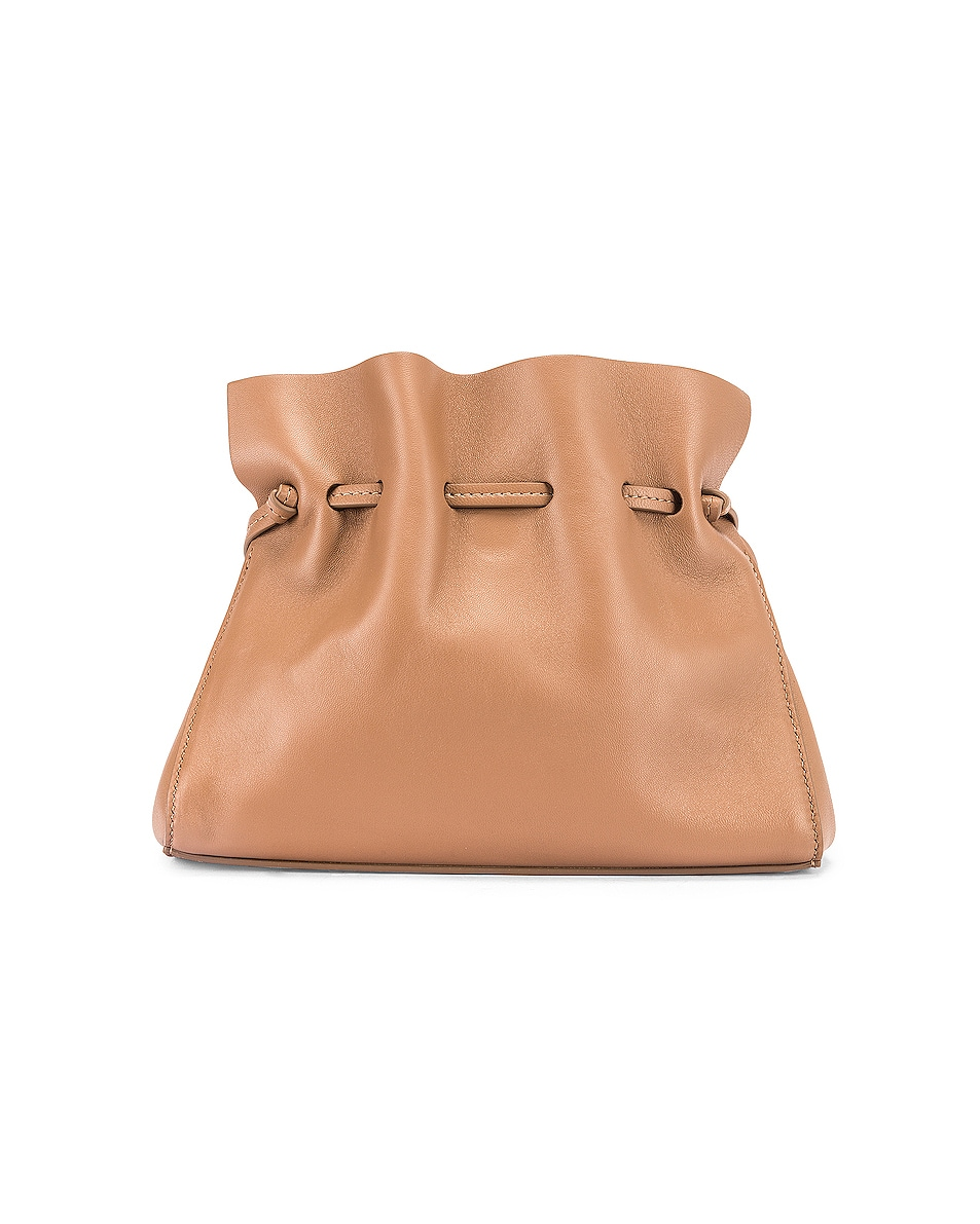 Image 3 of Mansur Gavriel Mini Protea Bag in Biscotto & Creme
