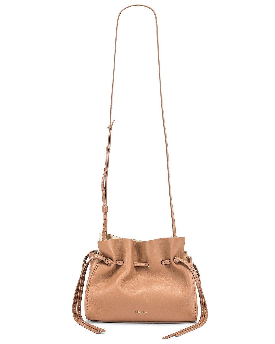Image 6 of Mansur Gavriel Mini Protea Bag in Biscotto & Creme