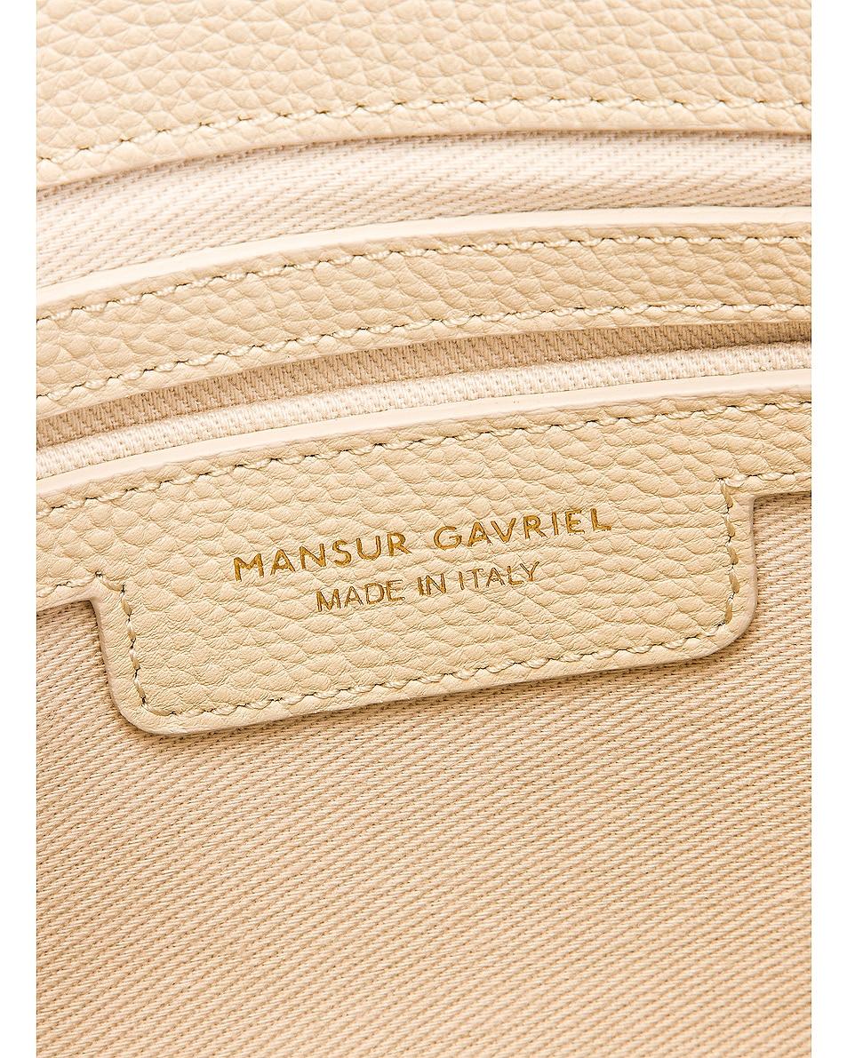 Image 7 of Mansur Gavriel Crossbody Bag in Creme