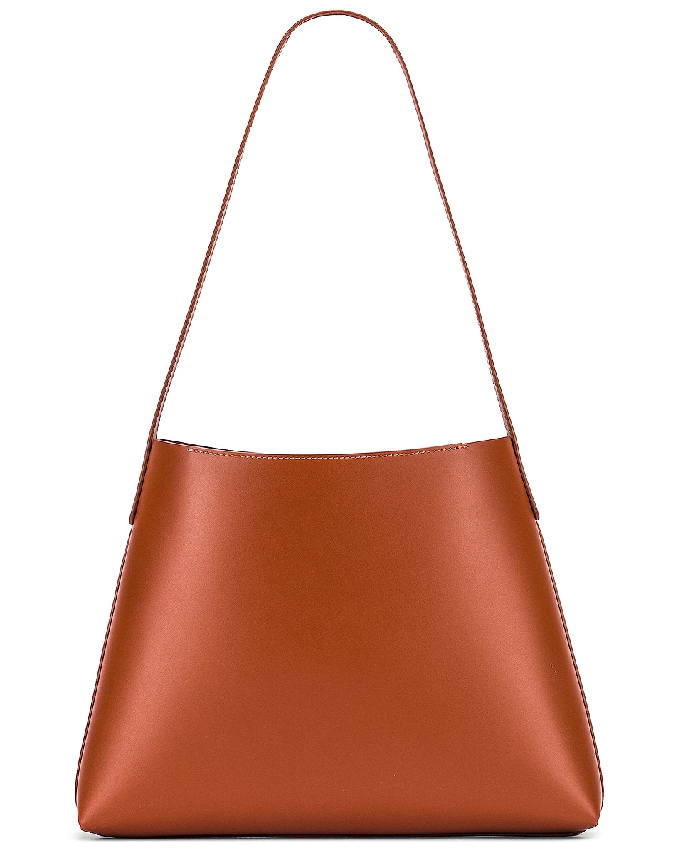 Image 3 of Mansur Gavriel Small Hobo Bag in Ginger