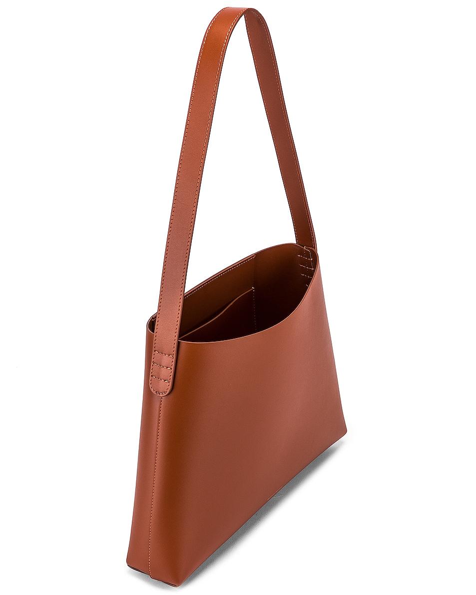 Image 5 of Mansur Gavriel Small Hobo Bag in Ginger