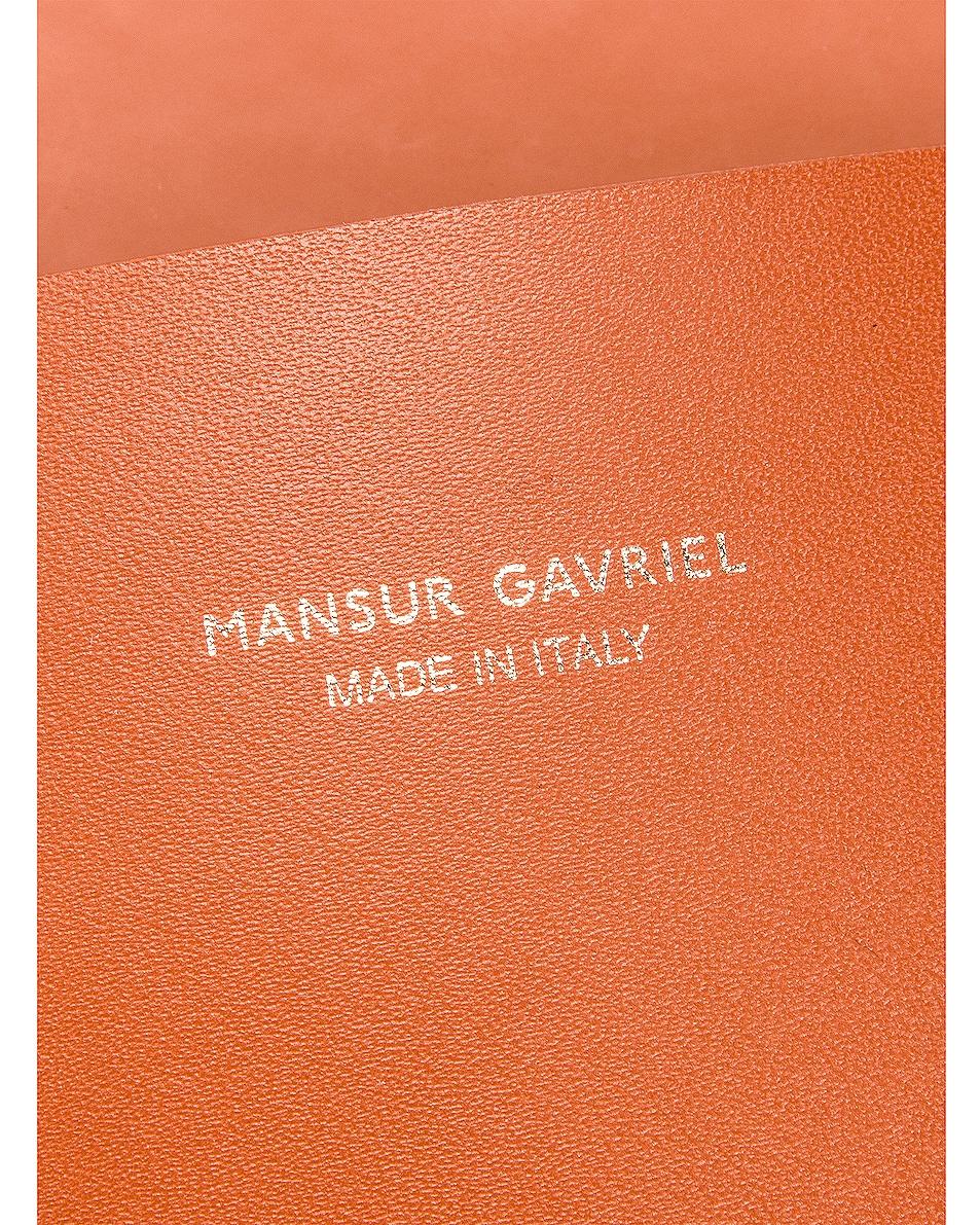 Image 6 of Mansur Gavriel Small Hobo Bag in Ginger