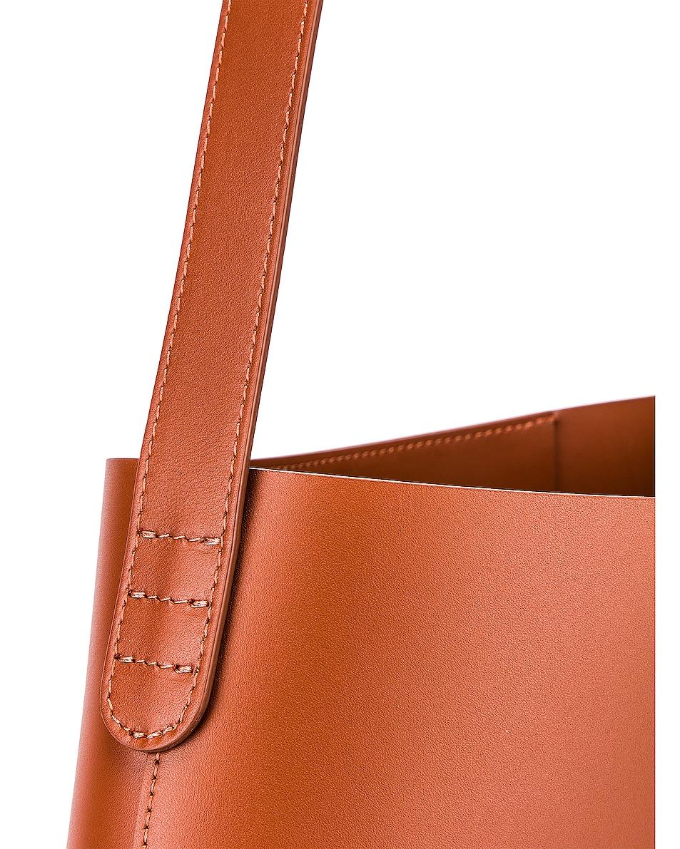 Image 7 of Mansur Gavriel Small Hobo Bag in Ginger