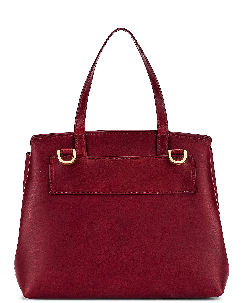 Image 3 of Mansur Gavriel Mini Lady Bag in Bordo