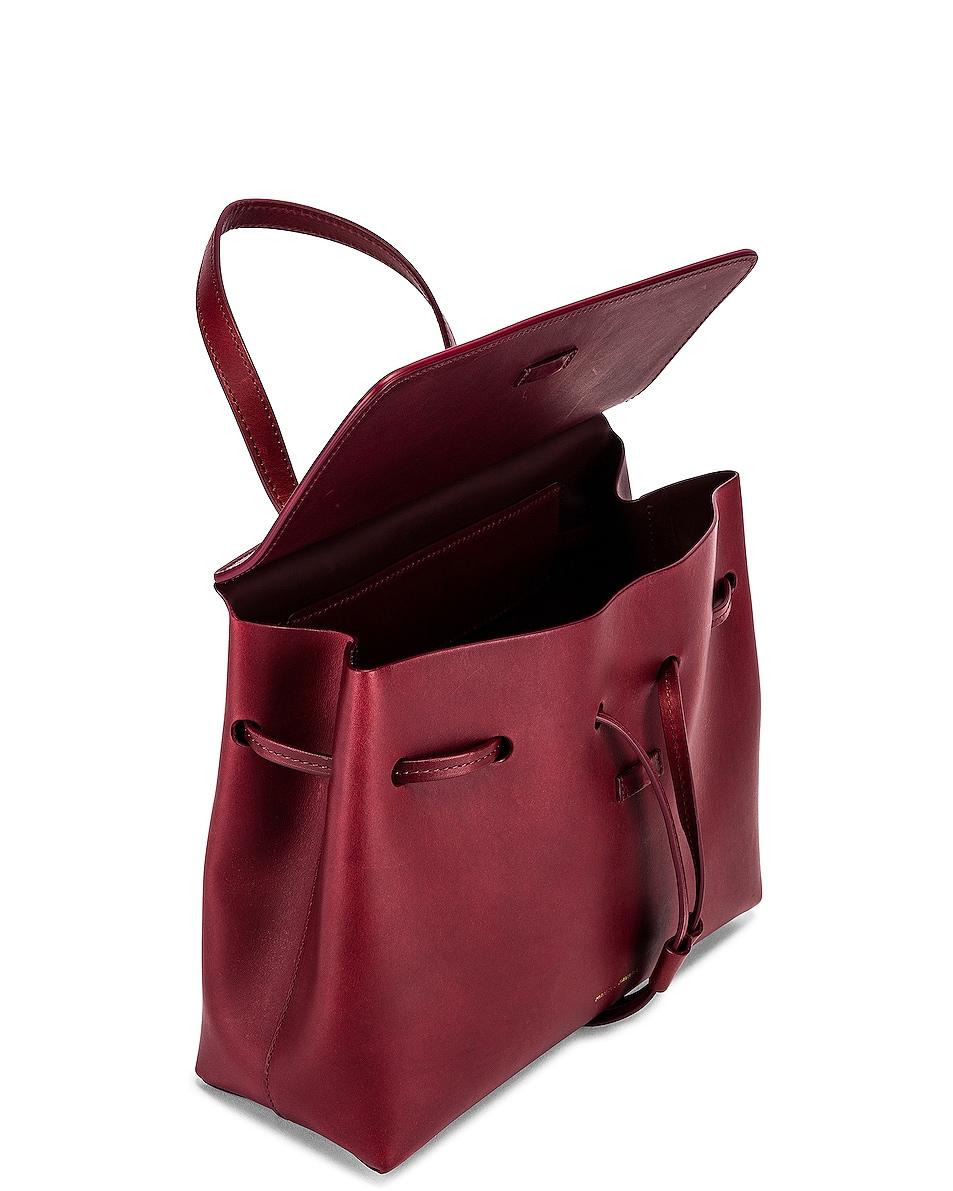 Image 5 of Mansur Gavriel Mini Lady Bag in Bordo