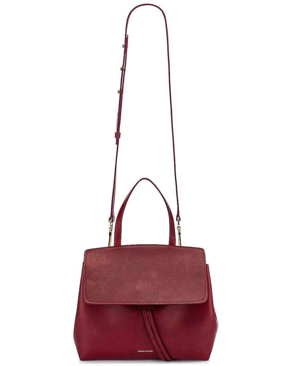 Image 6 of Mansur Gavriel Mini Lady Bag in Bordo