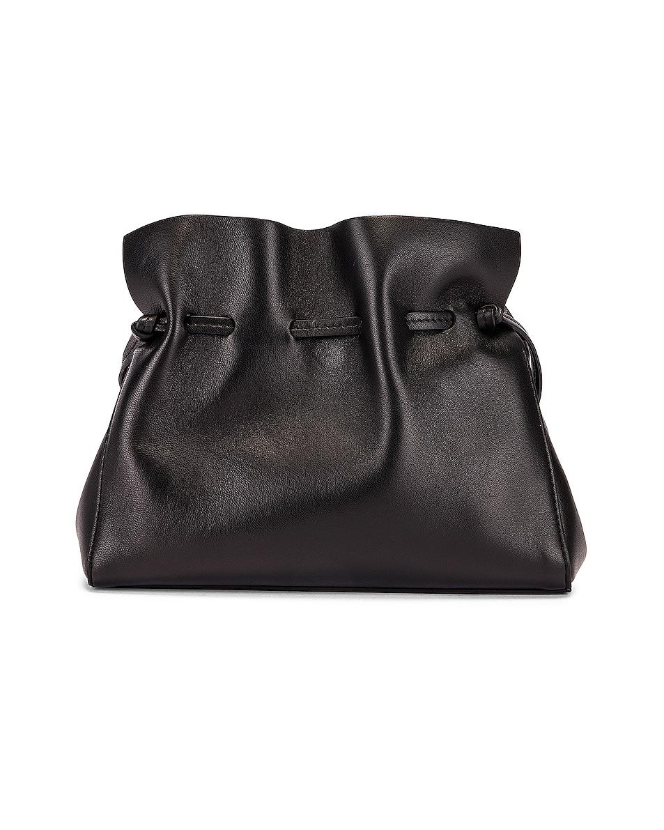 Image 3 of Mansur Gavriel Mini Protea Bag in Black & Flamma