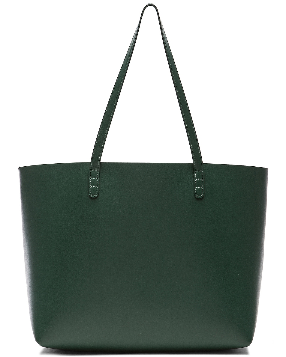 Image 3 of Mansur Gavriel Large Tote in Moss