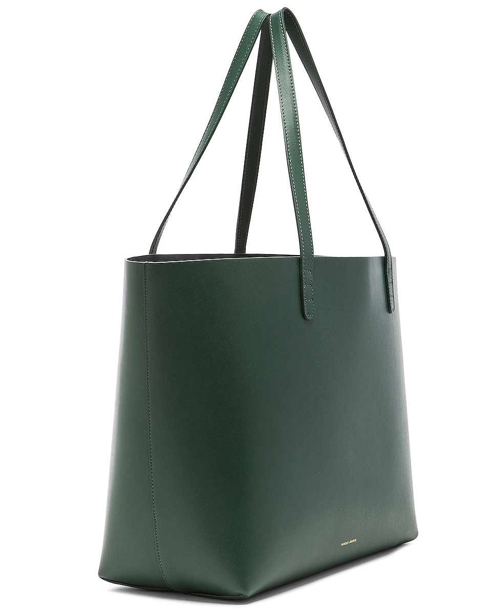 Image 4 of Mansur Gavriel Large Tote in Moss