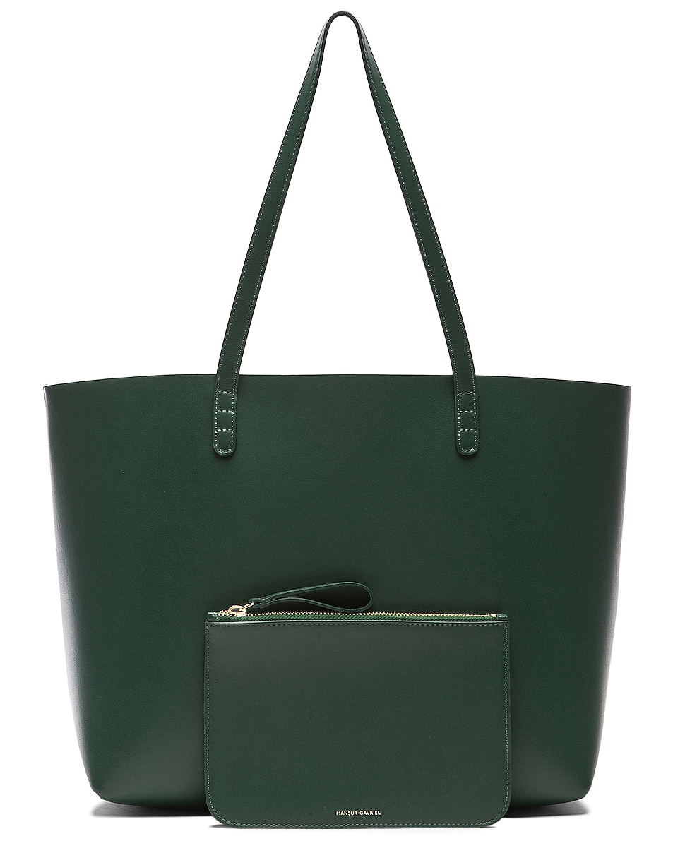 Image 6 of Mansur Gavriel Large Tote in Moss
