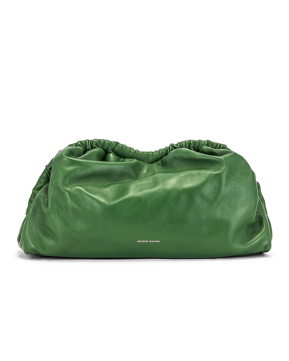 Image 1 of Mansur Gavriel Cloud Clutch in Agretti