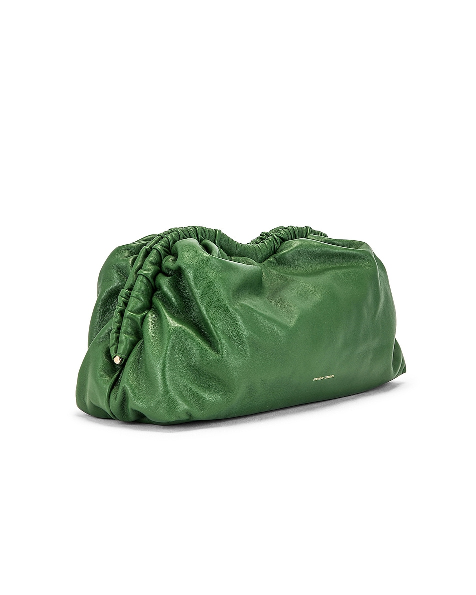 Image 4 of Mansur Gavriel Cloud Clutch in Agretti