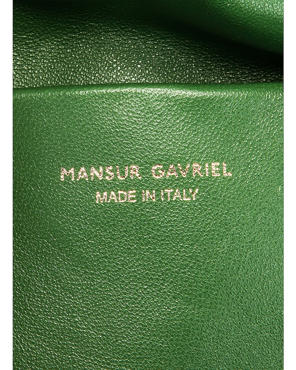 Image 6 of Mansur Gavriel Cloud Clutch in Agretti