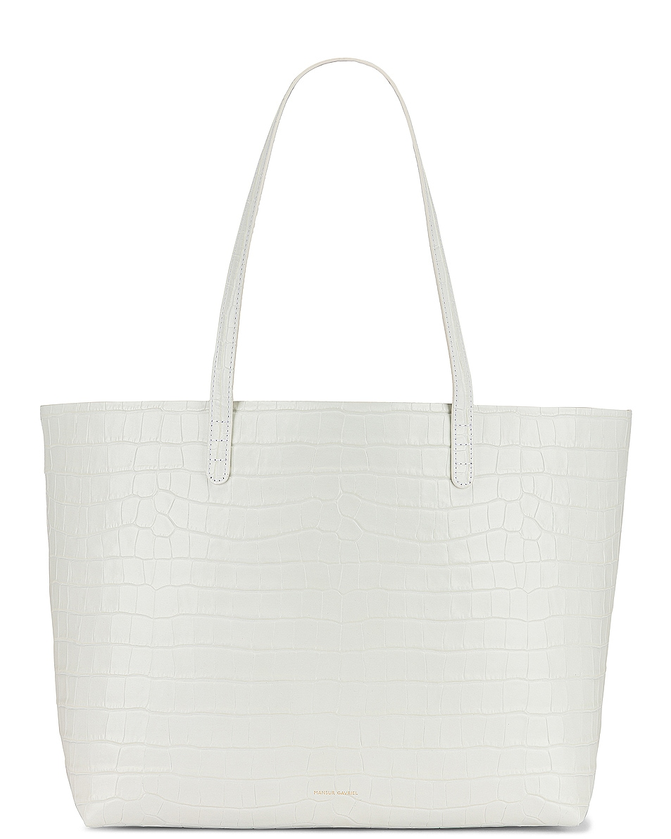 Image 1 of Mansur Gavriel Large Tote in White