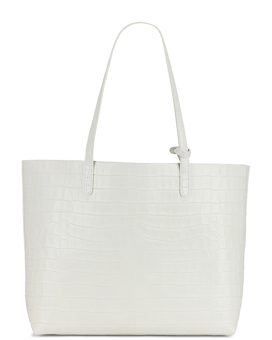 Image 3 of Mansur Gavriel Large Tote in White
