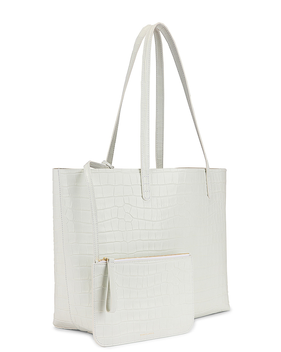 Image 4 of Mansur Gavriel Large Tote in White