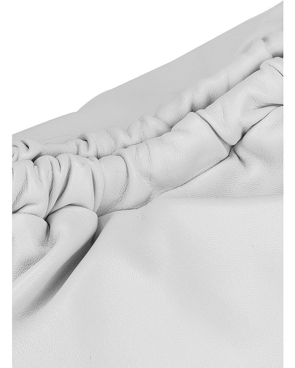 Image 7 of Mansur Gavriel Cloud Clutch in White & Blue