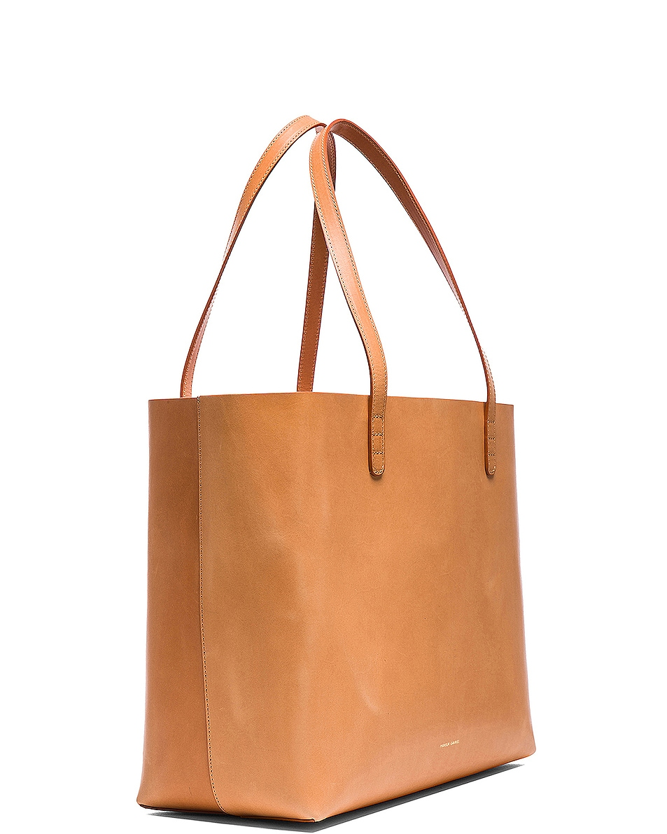 Image 4 of Mansur Gavriel Large Tote in Cammello & Rosa