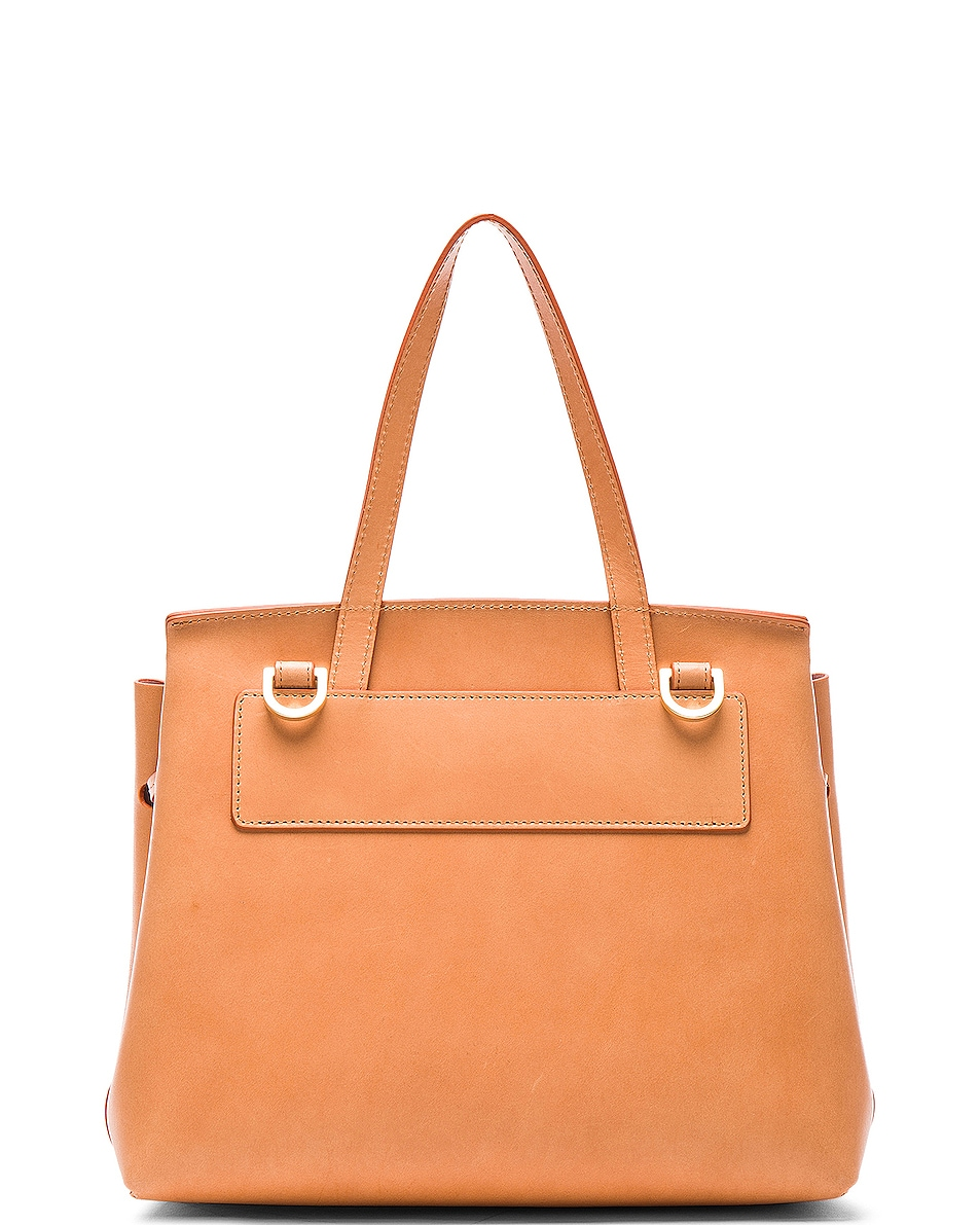 Image 3 of Mansur Gavriel Mini Lady Bag in Cammello & Rosa