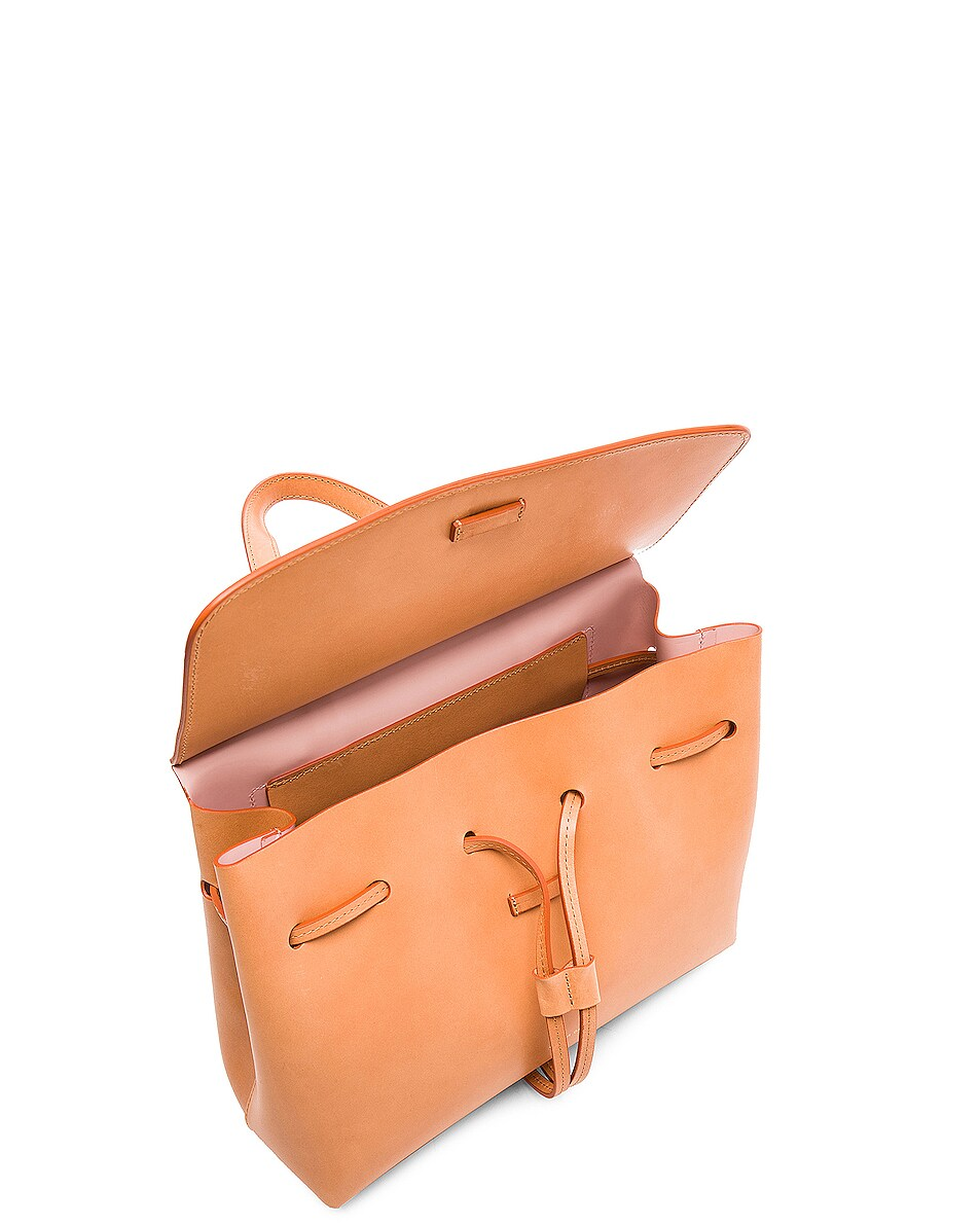 Image 5 of Mansur Gavriel Mini Lady Bag in Cammello & Rosa