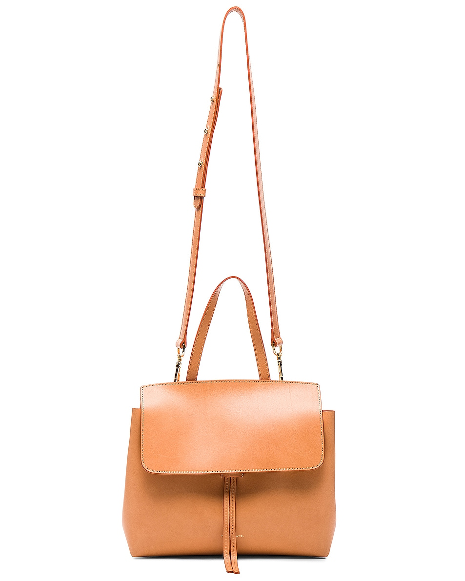 Image 6 of Mansur Gavriel Mini Lady Bag in Cammello & Rosa