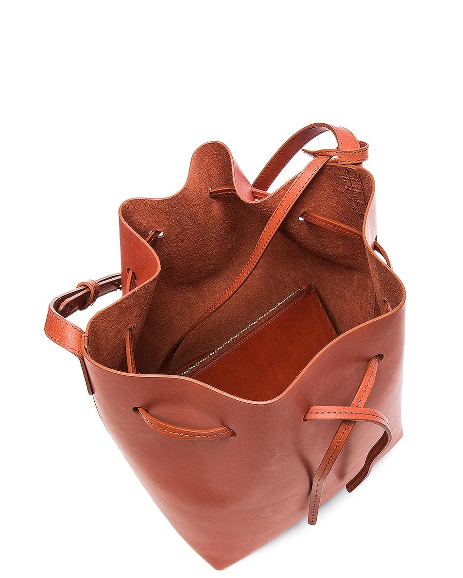 Image 5 of Mansur Gavriel Bucket Bag in Brandy