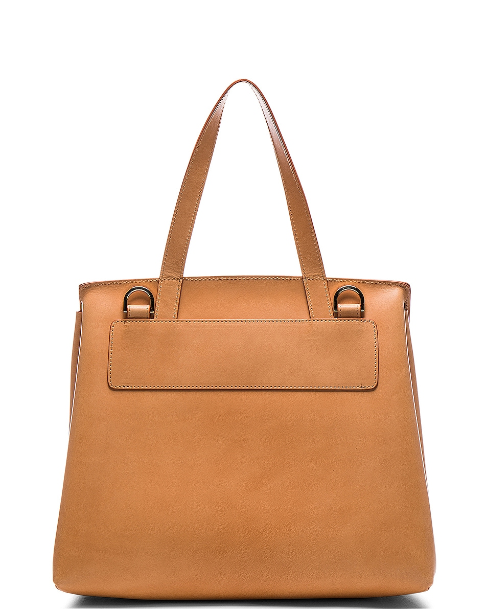 Image 3 of Mansur Gavriel Lady Bag in Cammello & Rosa