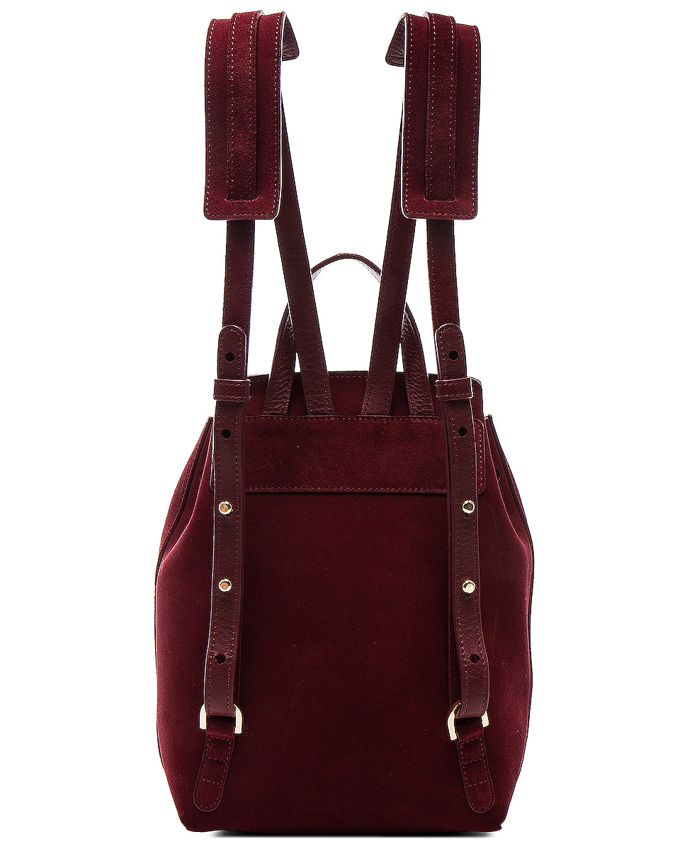 Image 3 of Mansur Gavriel Mini Backpack in Rococo Suede