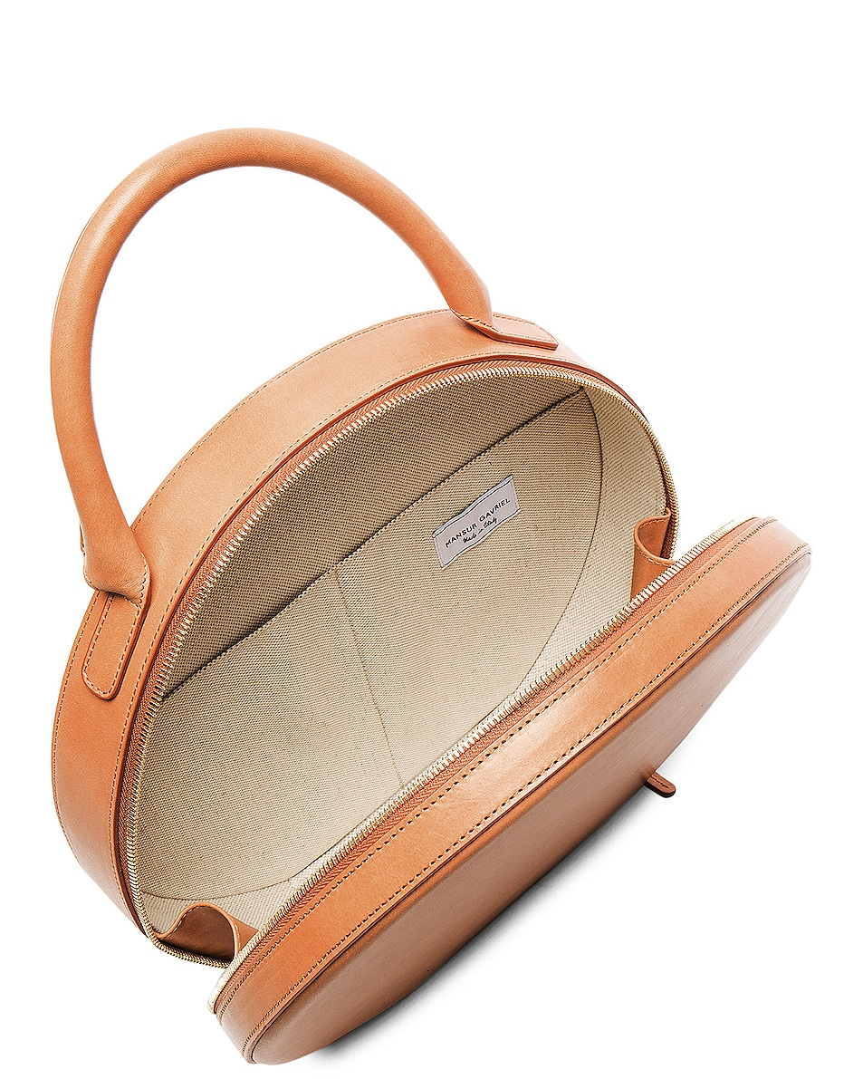 Image 5 of Mansur Gavriel Circle Bag in Cammello