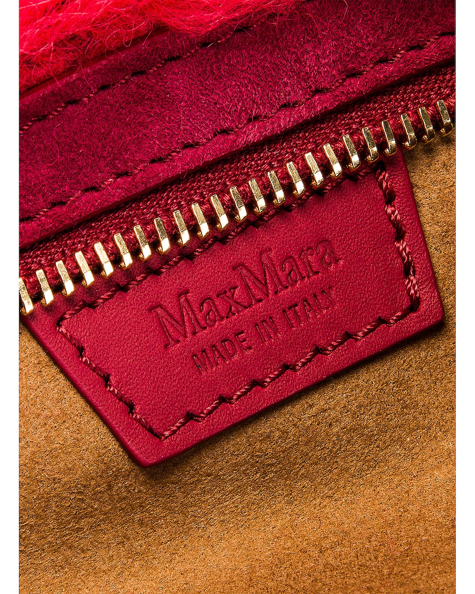 Image 6 of Max Mara Teddy Fanny Pack in Coral
