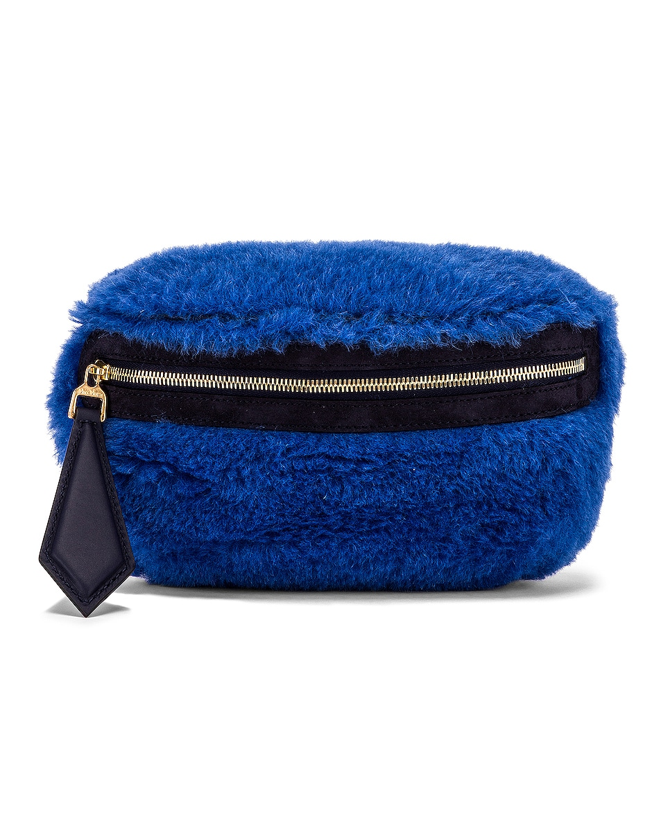 Image 1 of Max Mara Teddy Fanny Pack in Cornflower Blue