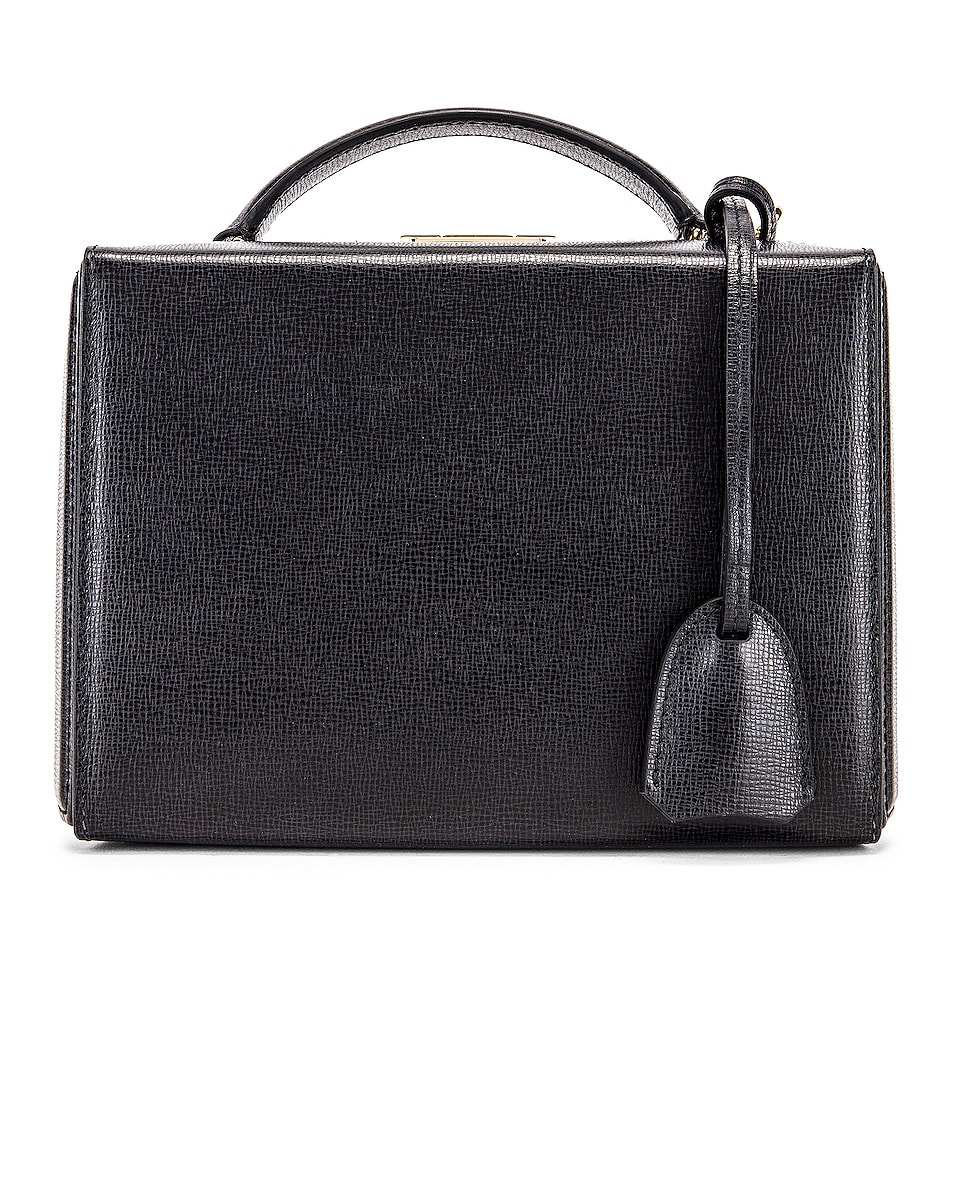 Image 3 of Mark Cross Grace Small Box Bag in Black