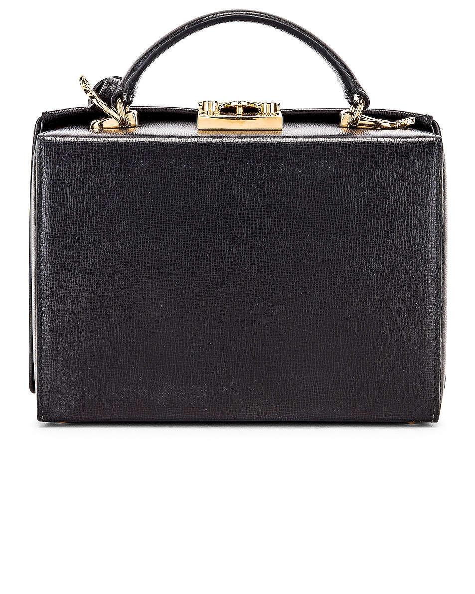 Image 4 of Mark Cross Grace Small Box Bag in Black