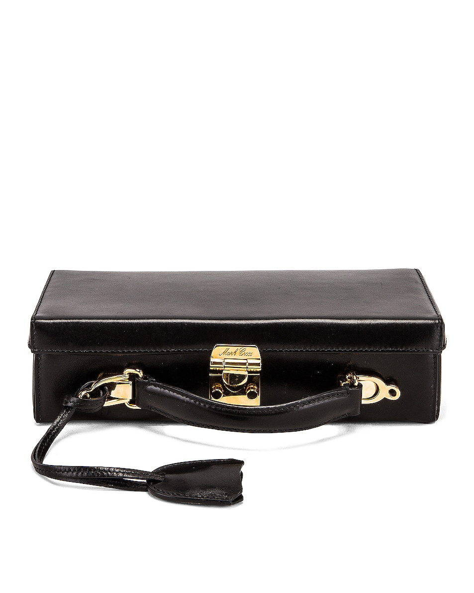 Image 1 of Mark Cross Grace Long Bag in Black