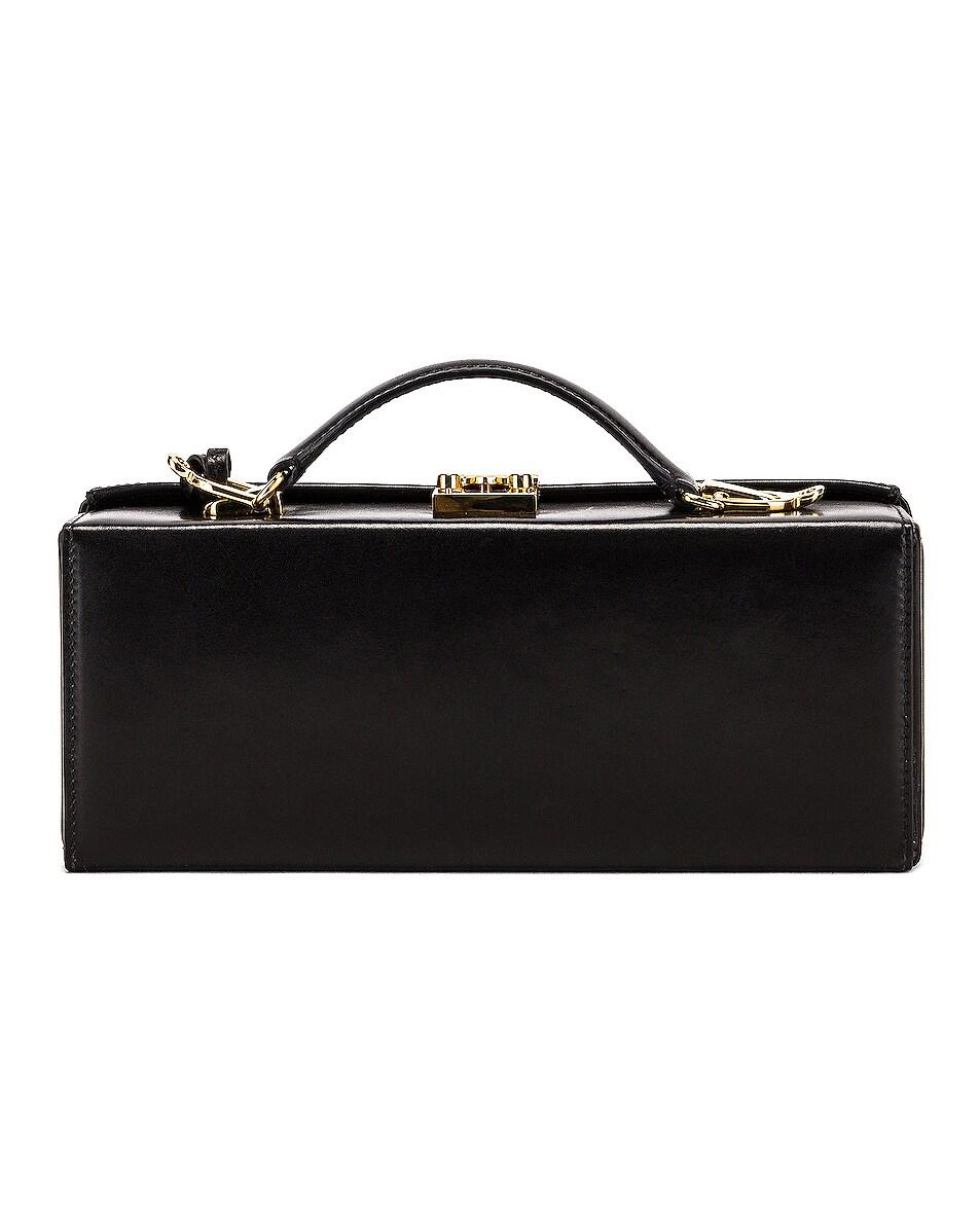 Image 3 of Mark Cross Grace Long Bag in Black