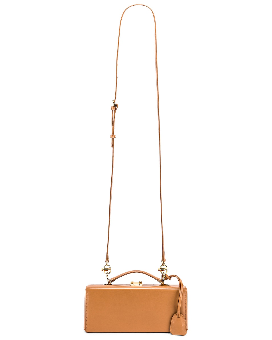 Image 6 of Mark Cross Grace Long Bag in Beige