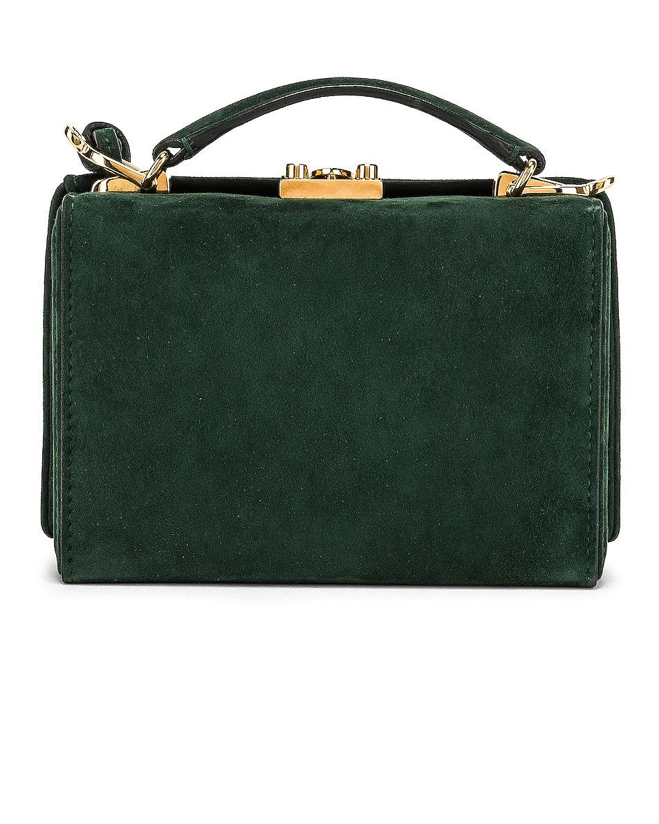 Image 3 of Mark Cross Grace Mini Box Bag in Evergreen