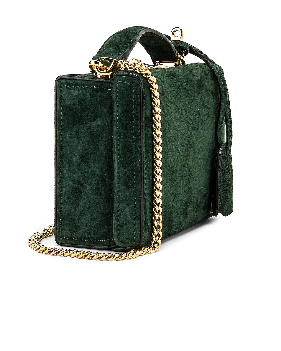 Image 4 of Mark Cross Grace Mini Box Bag in Evergreen
