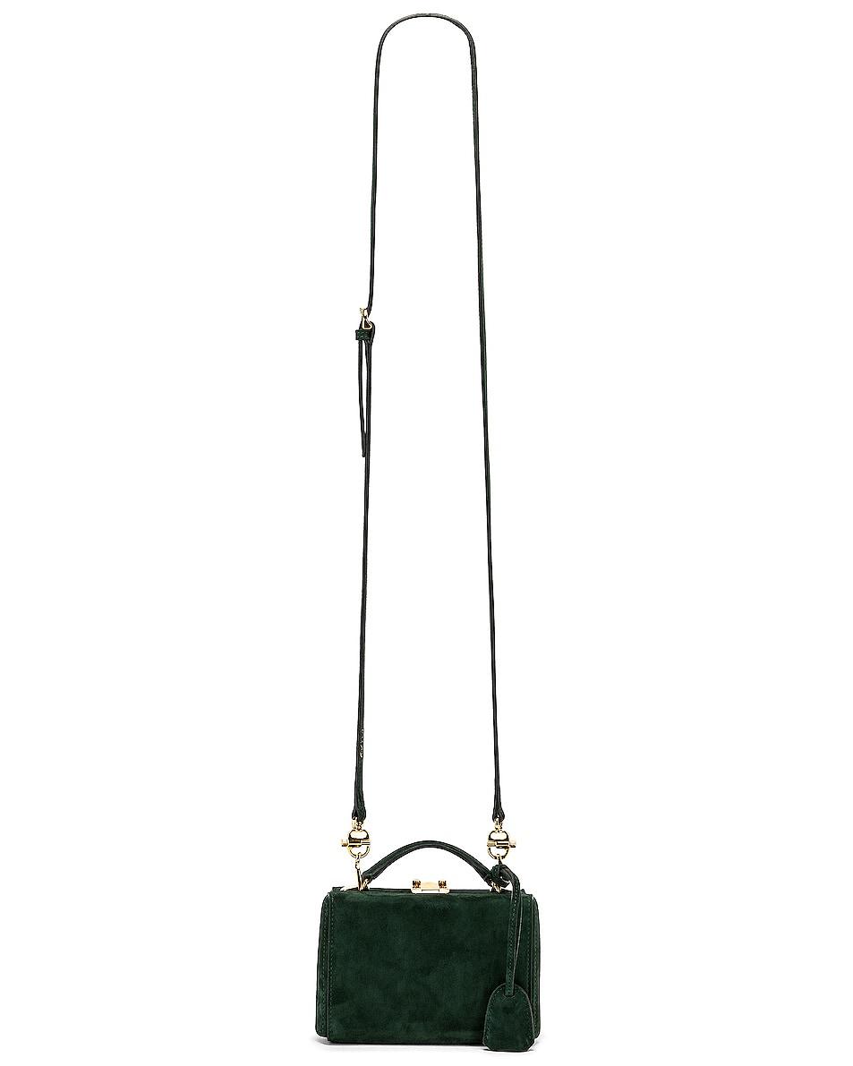 Image 6 of Mark Cross Grace Mini Box Bag in Evergreen