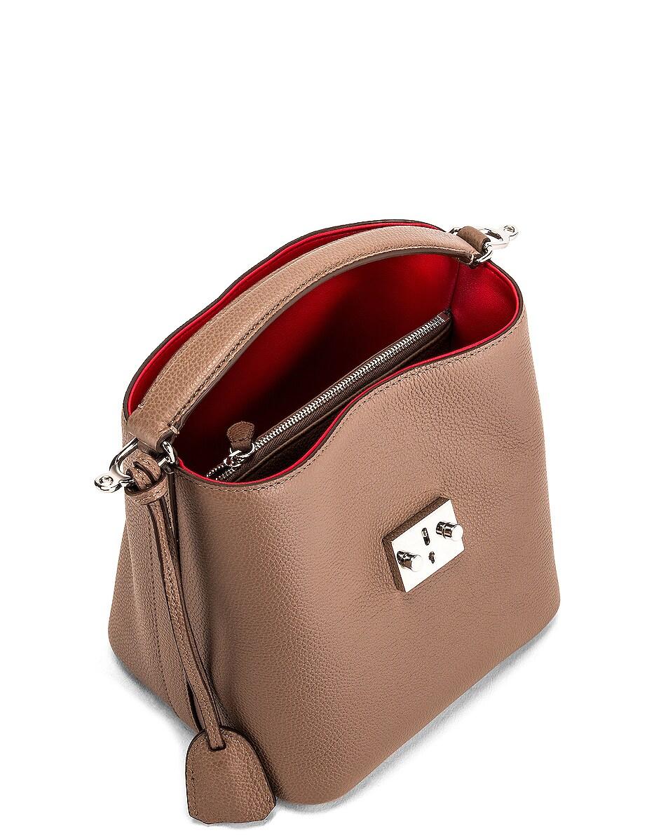 Image 5 of Mark Cross Murphy Small Bucket Bag in Mushroom