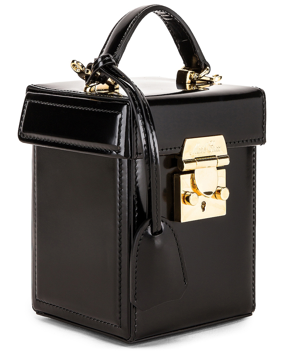Image 4 of Mark Cross Grace Cube Bag in Black