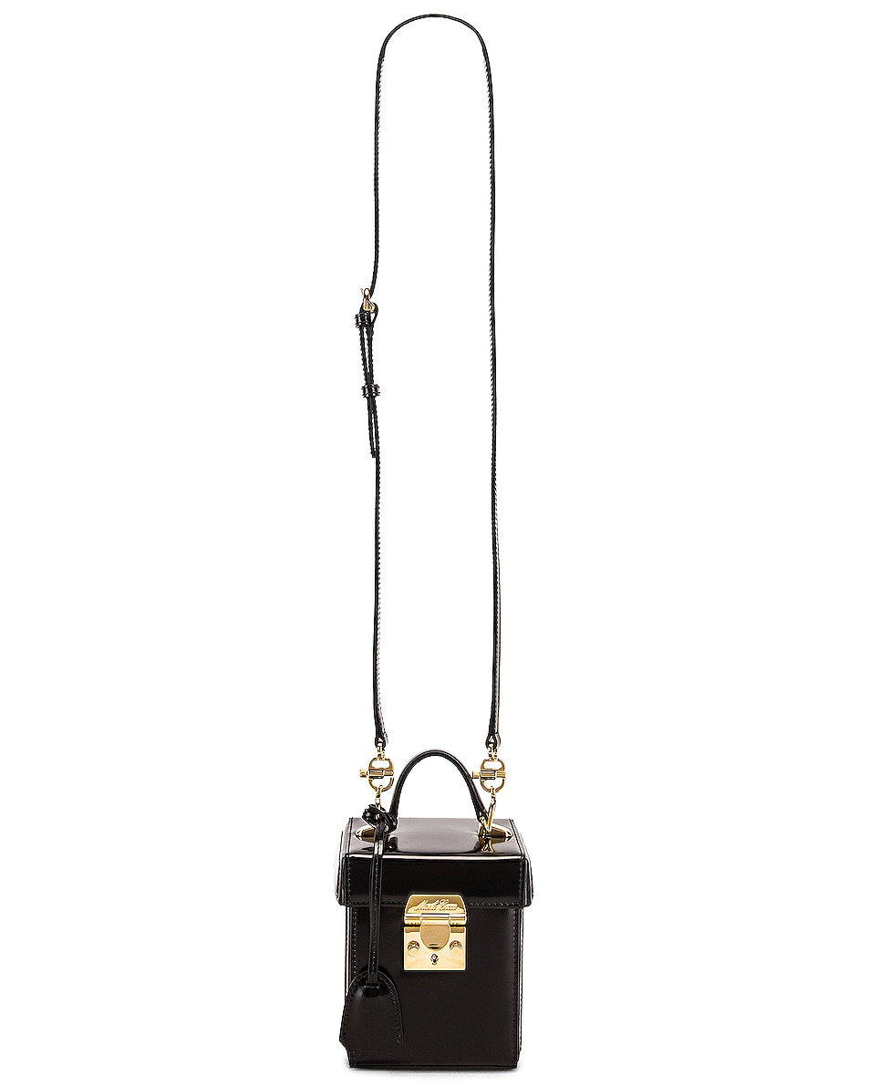 Image 6 of Mark Cross Grace Cube Bag in Black