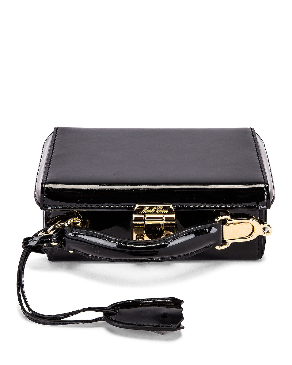 Image 1 of Mark Cross Grace Mini Box Bag in Black