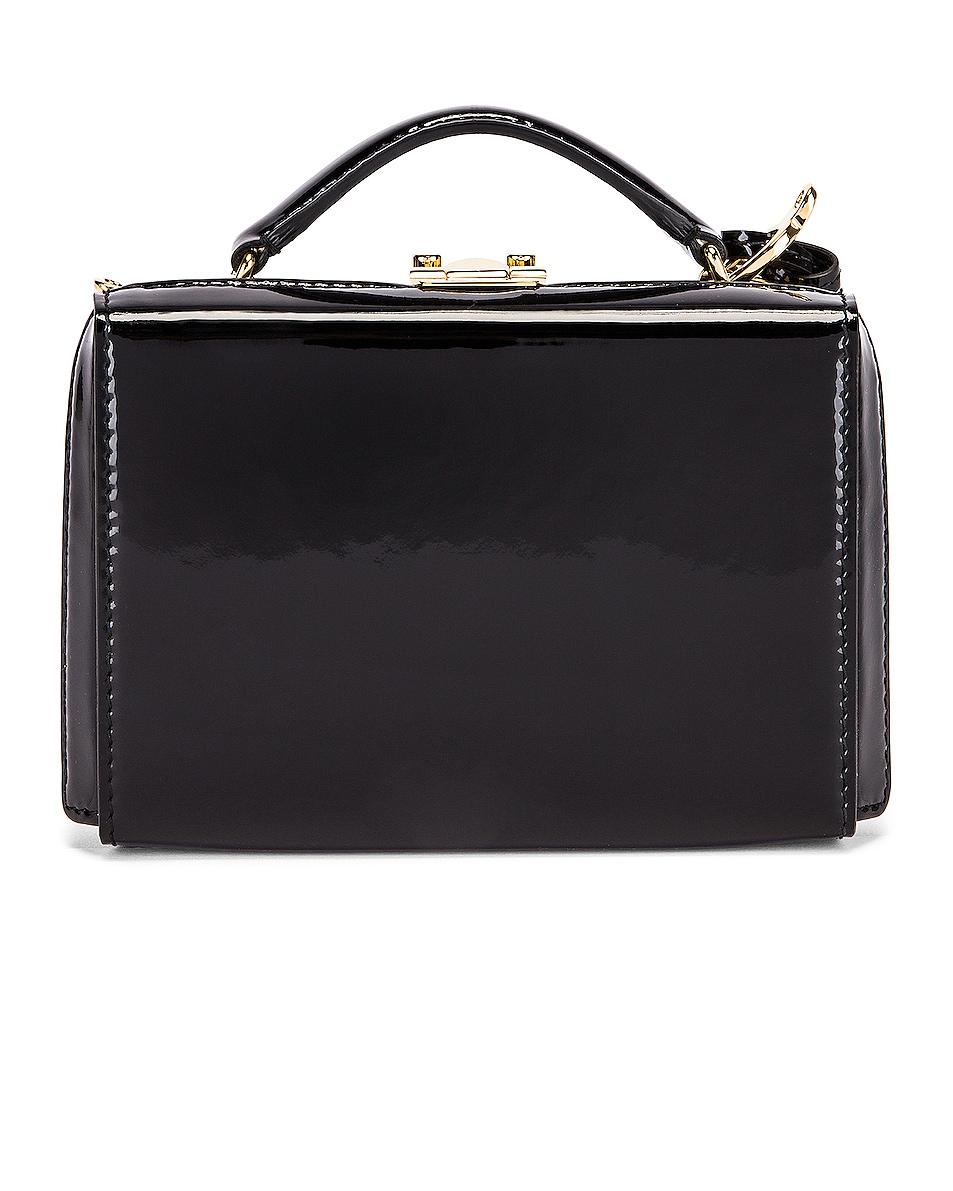 Image 4 of Mark Cross Grace Mini Box Bag in Black