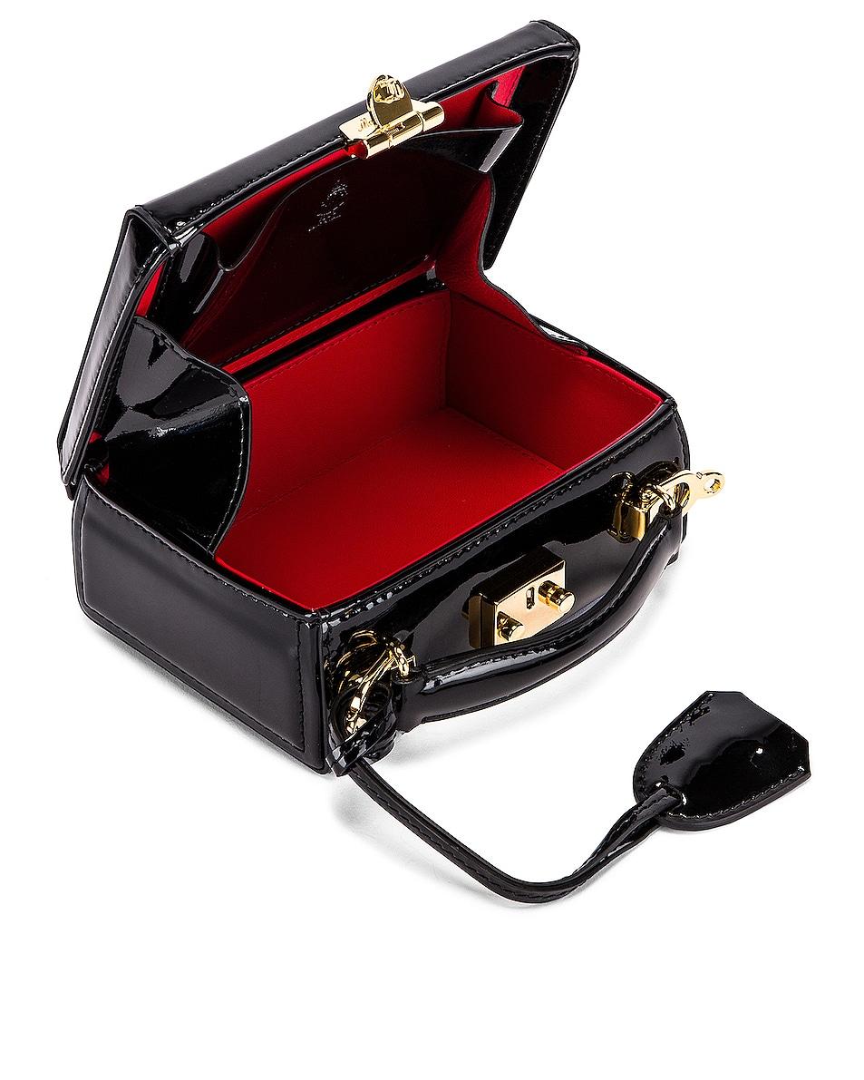 Image 6 of Mark Cross Grace Mini Box Bag in Black