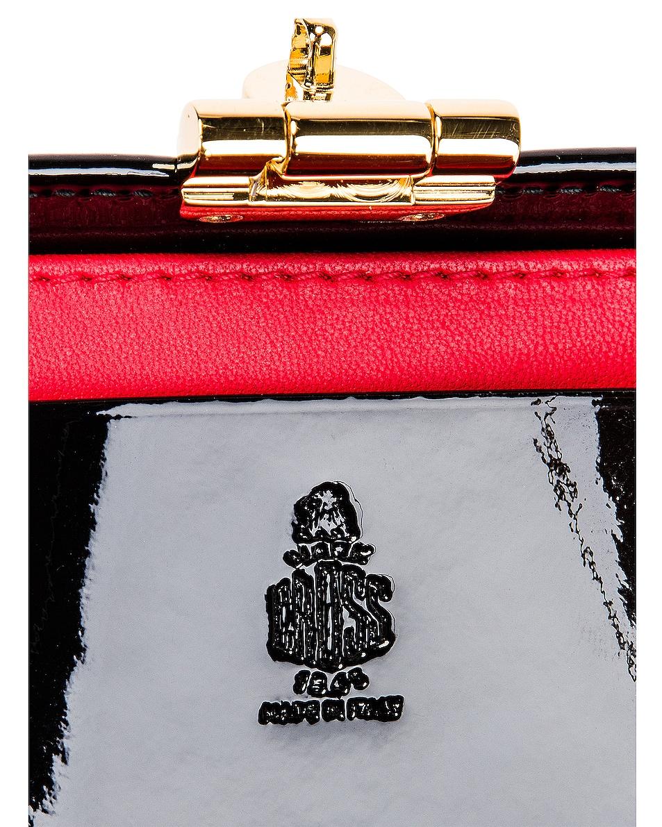 Image 7 of Mark Cross Grace Mini Box Bag in Black