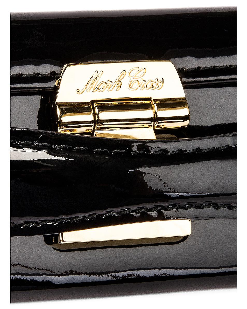 Image 8 of Mark Cross Grace Mini Box Bag in Black